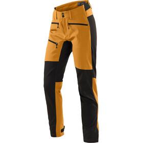 Haglöfs Rugged Flex Pantaloni Donna, desert yellow/true black